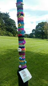 Woolly lamppost