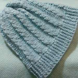 4ply cabled hat by nelnanandnora